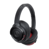 Audio-Technica ATH-WS660BT Solid Bass® Wireless Over-Ear Headphones with Built-in Mic & Control