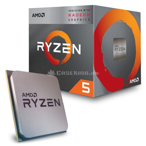 AMD Ryzen 5 3400G Desktop Processor