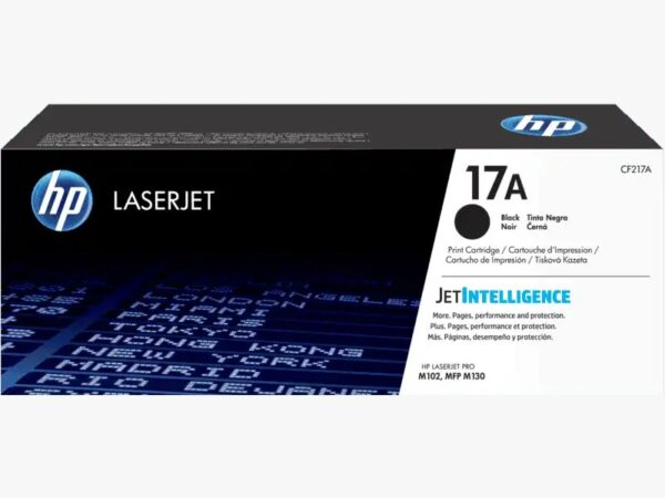 HP 17A Black Original LaserJet Toner Cartridg
