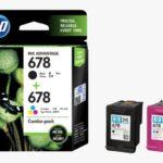HP 678 2-pack BlackTri-color Original Ink Advantage Cartridges