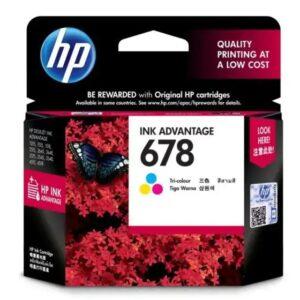 HP 678 Tri-color Original Ink Advantage Cartridge