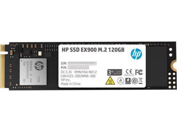 HP SSD EX900 M.2 PCIe 120GB