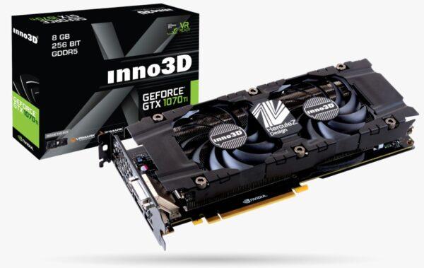 Inno3D GeForce GTX 1070 Ti Twin X2