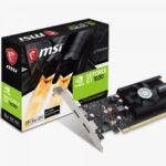 MSI GeForce GT 1030 2G LP OC