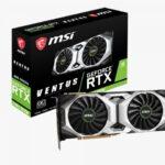 MSI GeForce RTX 2080 SUPER™ VENTUS OC